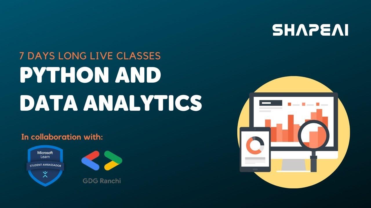 Python and Data Analytics : Day-2