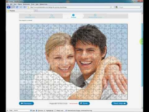 Make personalized photo puzzles online