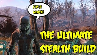 Fallout 4: The Ultimate Sneak Build! Chameleon Stealth Suit Character Breakdown