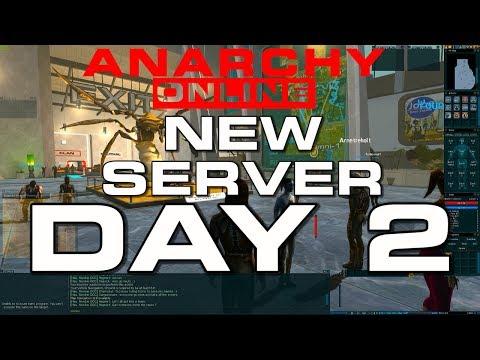 Anarchy Online  –  NEW SERVER – DAY 2