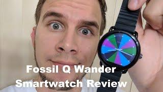 Fossil Q Wander Smartwatch Tech Review!