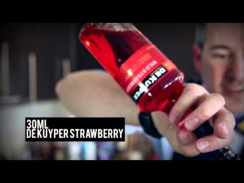 Strawberry Spritz | How To Mix | De Kuyper | Drinks Network