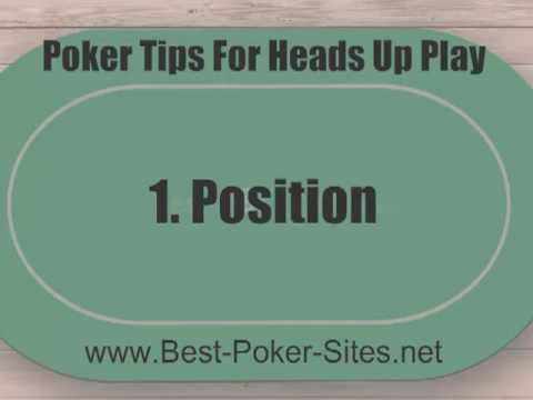 Heads Up Poker Strategy - 9 Top Tips For Playing Heads Up