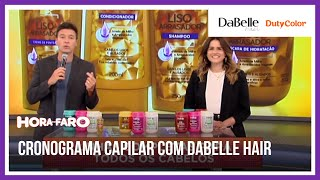 Rodrigo Faro dá dicas de como usar DaBelle Hair no seu cronograma capilar