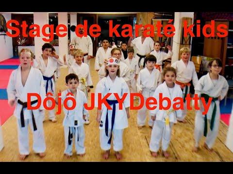 karaté stage kids