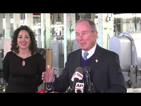 Bloomberg talks Schultz, taxes in NH