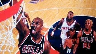 Bulls vs. Knicks at Madison Square Garden - 1998 season (NBA on NBC) Video