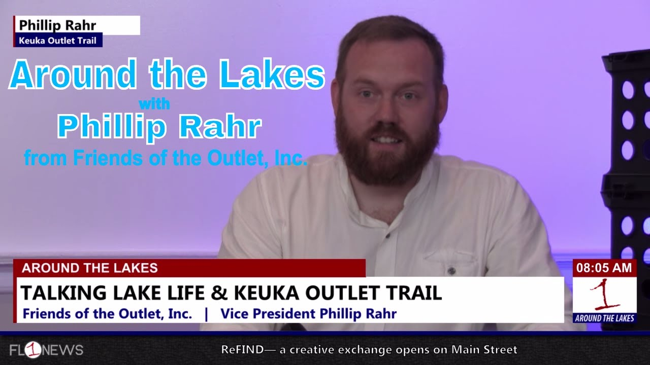 Exploring the Keuka Outlet Trail .::. Around the Lakes 6/14/18