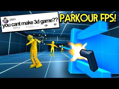 He said I Couldn't Make a 3D Game... So I Made One!