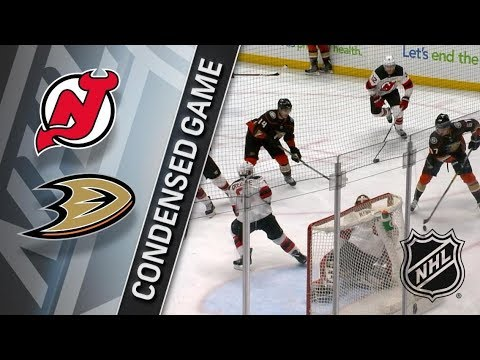 New Jersey Devils vs Anaheim Ducks – Mar. 18, 2018 | Game Highlights | NHL 2017/18. Обзор