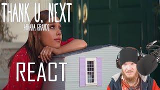 Ariana Grande - thank u, next (Official Music Video) REACT!