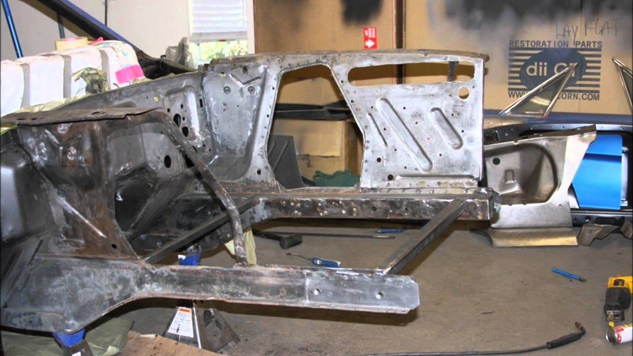 65 Mustang Restoration Engine Bay Transformation A
