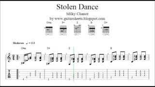 ♫ MILKY CHANCE - Stolen Dance ♫ Easy Guitar Lesson ♫ !!! DOWNLOAD ORIGINAL NOTES, TABS & CHORDS !!!