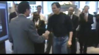 Steve Jobs, Next Software & Sutter St Store Opening for Sharper Image