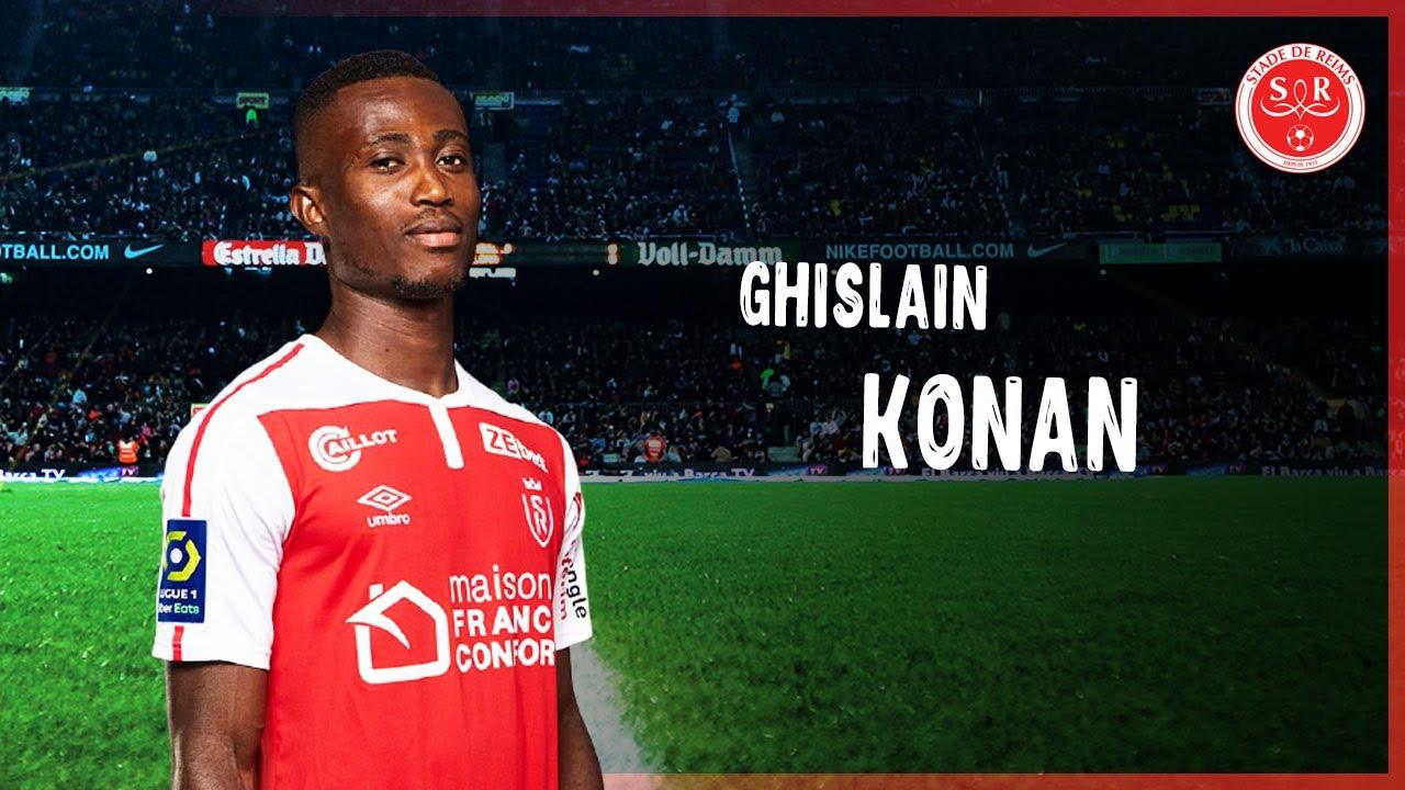 Download Ghislain Konan - Amazing Tackles & Assists - Reims   2021   HD