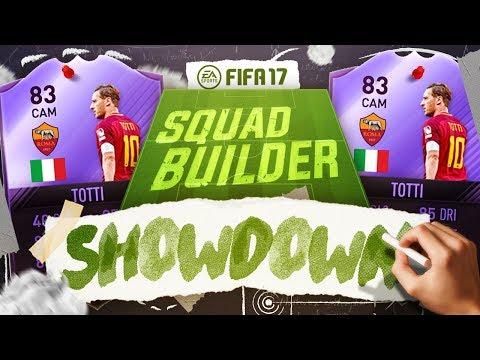 LEGENDARY HERO TOTTI SQUAD BUILDER SHOWDOWN VS ANDY!!! - FIFA 17 ULTIMATE TEAM