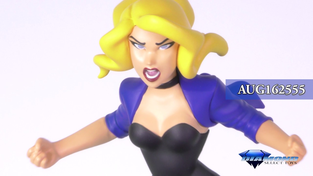 NEW DC Gallery Black Canary Statue Justice League Unlimited Comics PVC Figure