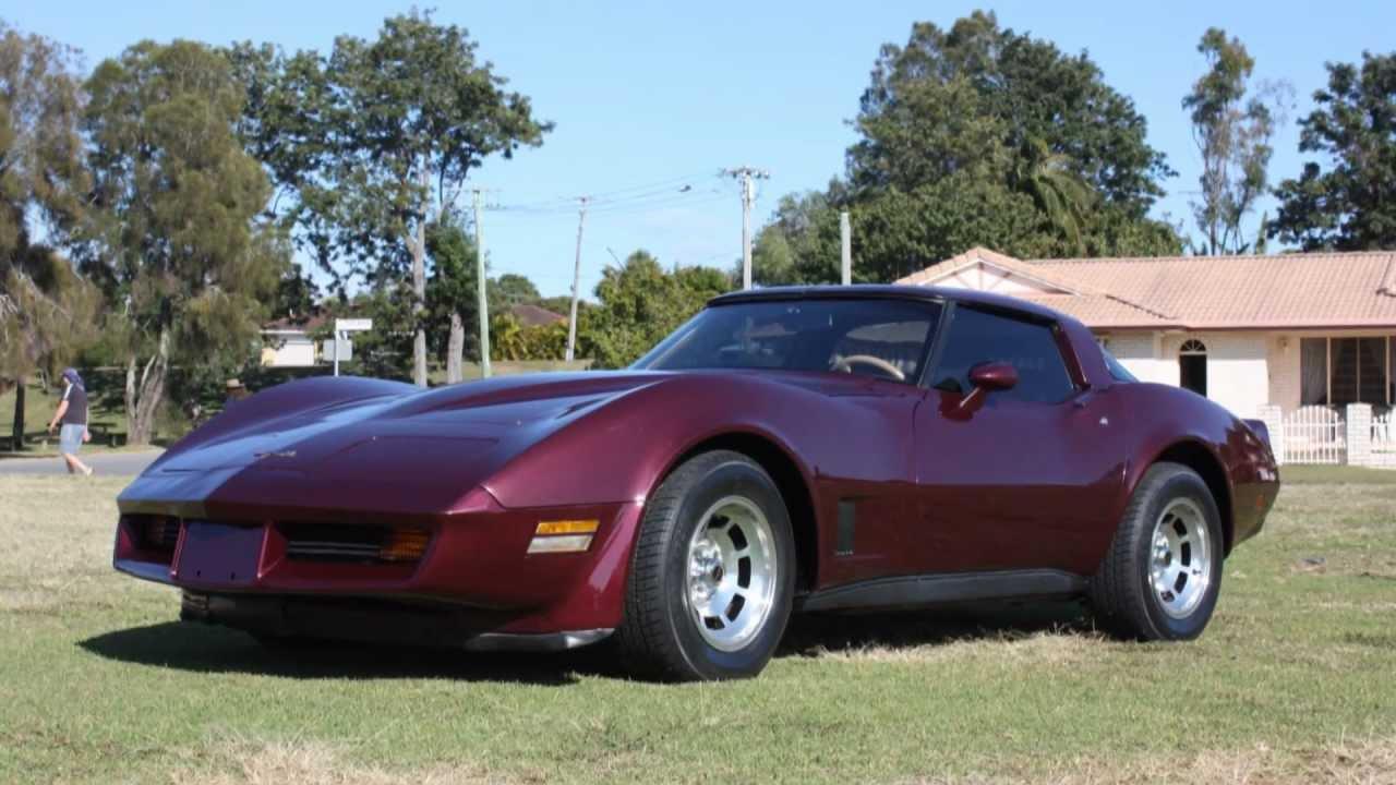 1981 Metallic Maroon Corvette For Sale Youtube