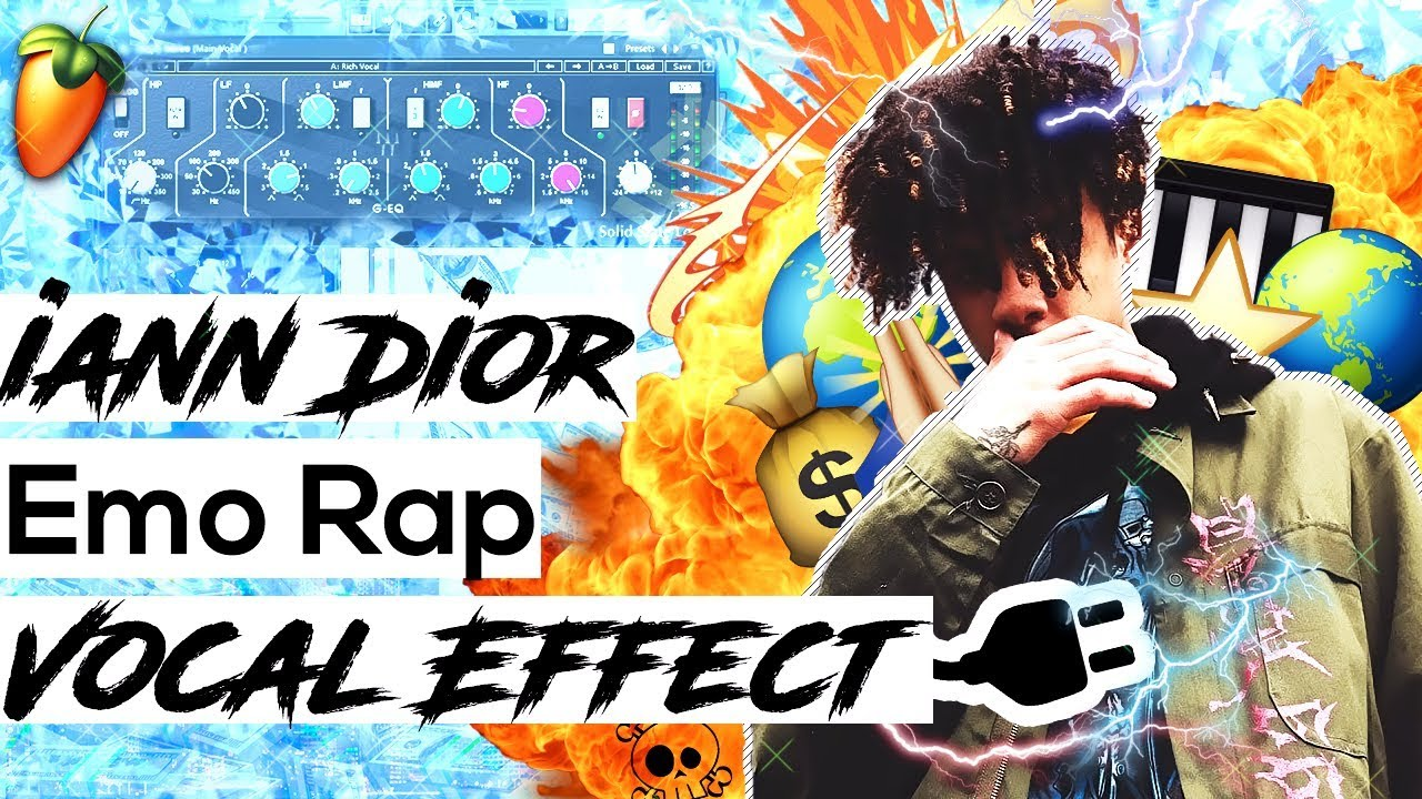 How To Sound Like iann Dior Vocal Effect Tutorial In FL Studio