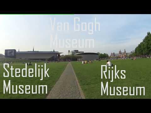 Biking Amsterdam | CS to Olympic Stadium and more