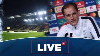 VIDEO: Conférence de presse et entraînement avant Borussia Dortmund Paris Saint-Germain