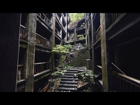 "軍艦島 4K (Ultra HD) - Japan's ""Battleship Island""  端島 Hashima"