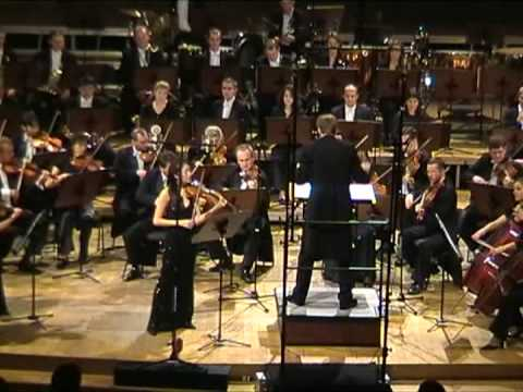 PIOTR BORKOWSKI conducts Ryu Jae Joon - Violin Concerto No. 1 - 2nd part