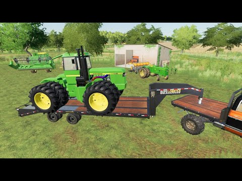 Buying 1000 horsepower tractor for farm   Back in my day s2 ep6   Farming Simulator 19  