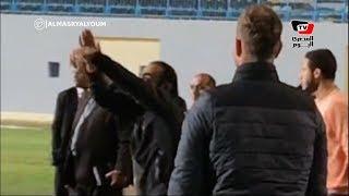 انفعال سيد عبدالحفيظ ولاعبي الأهلي على قرارات حكم مباراة بيراميدز