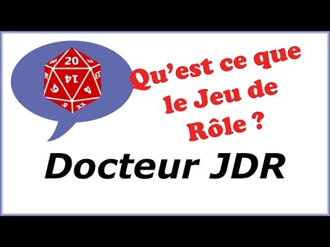 docteur jdr qu 39 est ce que le jeu de r le youtube. Black Bedroom Furniture Sets. Home Design Ideas
