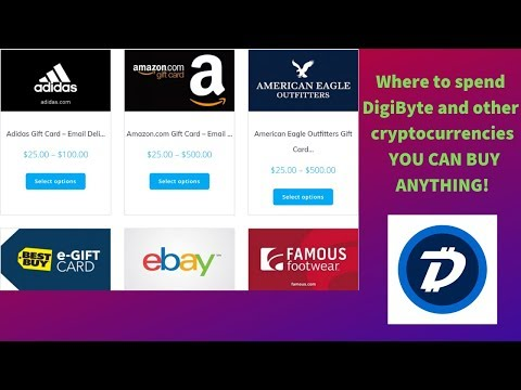 Live on Crypto: How to buy virtually anything with DigiByte and cryptocurrencies.
