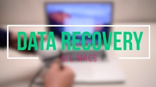 How to Recover Data from any Mac Macbook ,iMac, Mac Pro, Mac Mini