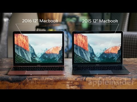 Apple 2016 MacBook vs. 2015 MacBook