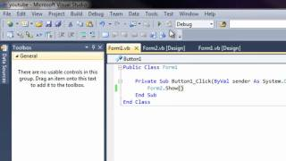Tutorial 2: Microsoft Visual Studio 2010 - How to Make a Button Open Another Website, External Link