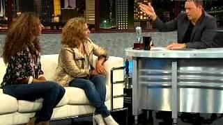 Alexis Valdes entrevista a Rosario y Lolita Flores  Parte 1  9 7 12