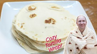 How to Make Flour Tortillas | Easy Soft Homemade Flour Tortilla Recipe