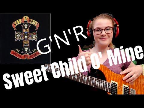 Guns N' Roses - Sweet Child O' Mine - Guitar Cover (Amy Lewis)