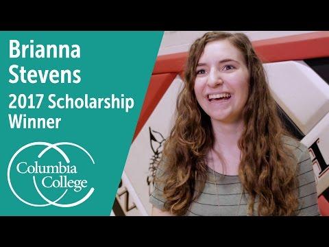Brianna Stevens - 2017 Scholarship Winner | Columbia College