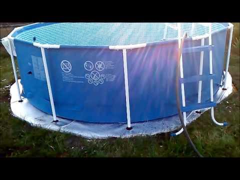 Утепляем дно бассейна!