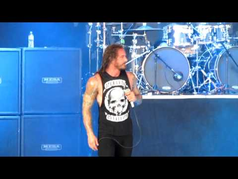 As I Lay Dying   94 Hours live PNC Bank Arts Center Aug 8th 2012 HD