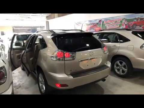 CARS PRICE REVIEW | 2005 Lexus RX330 Full Option Gold Color