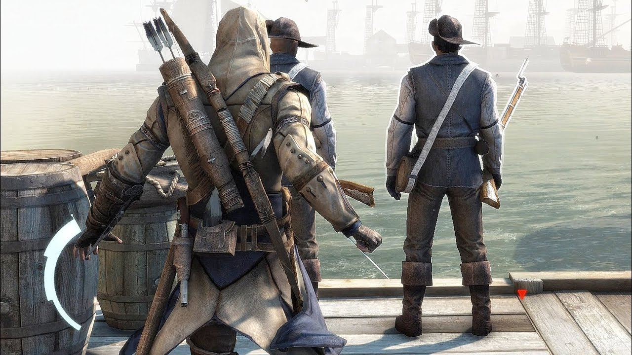 Assassin S Creed 3 Hidden Blade Rampage With Master Connor Youtube