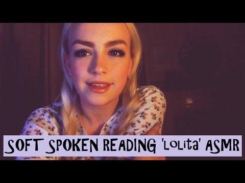 Soft Spoken ASMR Reading 'Lolita'