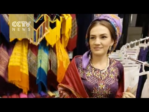 China helps with silk production in Turkmenistan