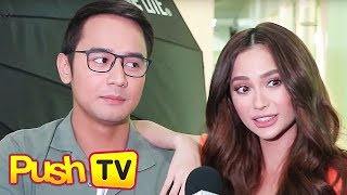 "Push TV: ""Sabay-sabay kami sinisigawan"": JM de Guzman recalls college days with Arci Munoz"