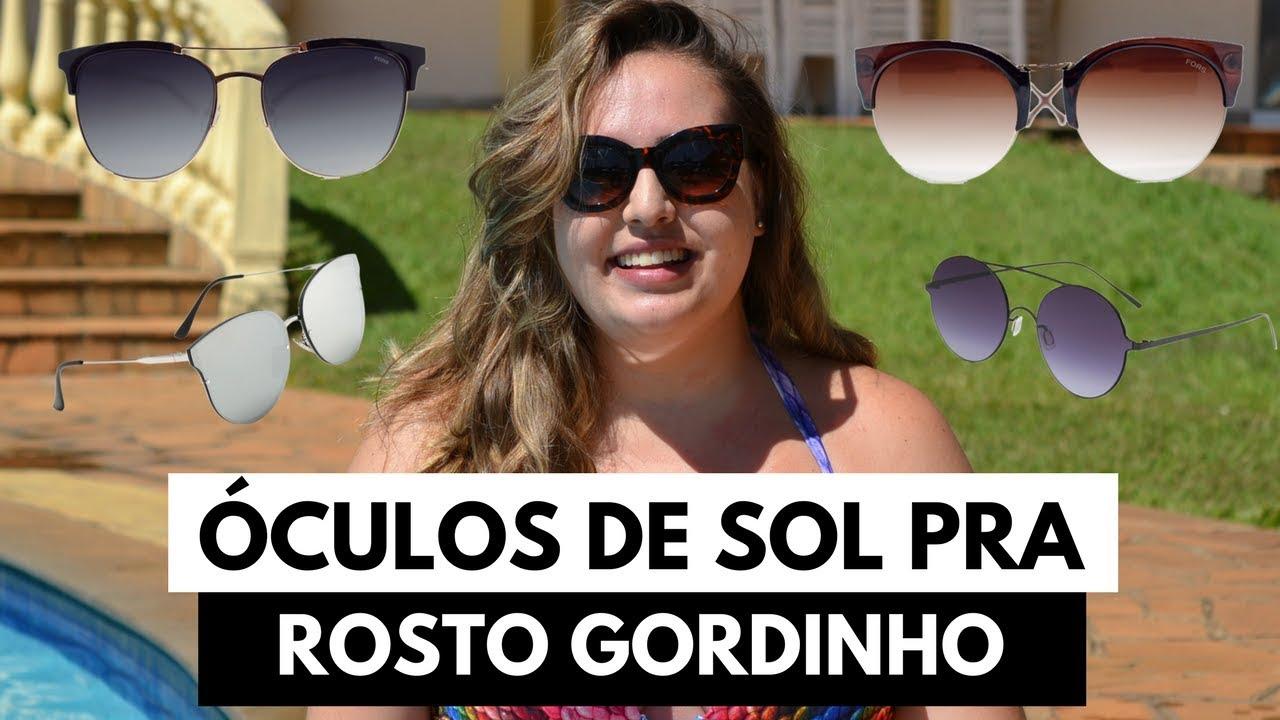 e7d97f7aef9a8 Óculos de sol pra rosto gordinho    por Ana Luiza Palhares ...