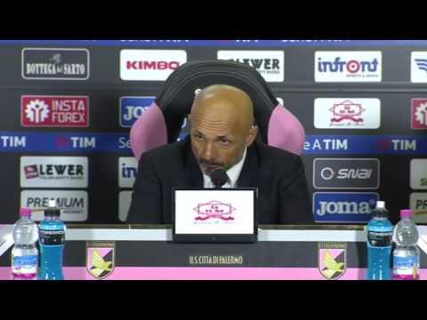 """Conferenza Spalletti post Palermo: """"Roma al 70%. Grenier ha fatto una buonissima partita"""""""