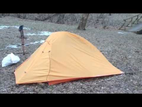 & Nature Hike Cloud 2 person tent review - YouTube