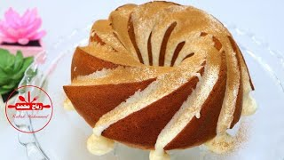 Carrot and cinnamon cake with the best sauce of the finest, most delicious and easiest cakes, you mu