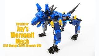 Tutorial for Jay's Werewolf Mech - Lego Ninjago 70652 Alternate MOC